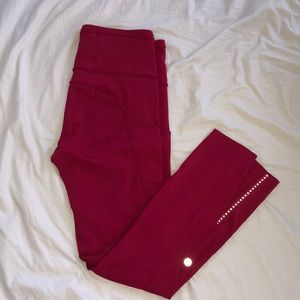 Lululemon leggings 7/8